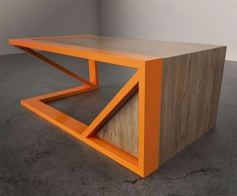 استفاده از فلز در تولید میز