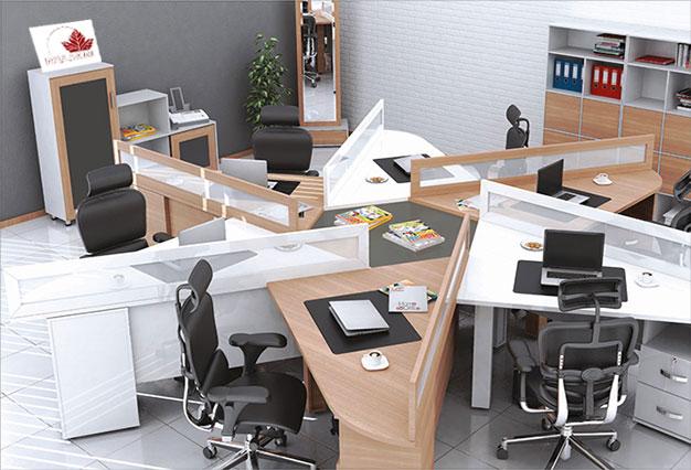 پارتیشن اداری میز کارمندان